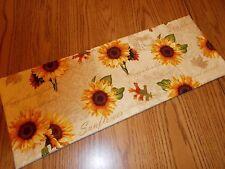 Bathroom sunflower decor MINI table topper Tank Topper Fall cornucopia pumpkin