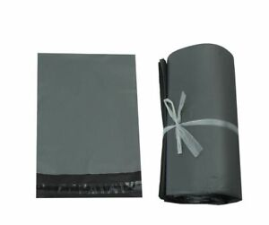 GREY Postal Post Packaging Bags Plastic Parcel Mailing Packing Envelopes