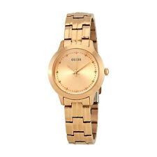 Guess Chelsea Rose Gold Dial Stainless Steel Ladies Watch W0989L3
