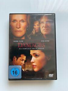 DAMAGES - Die komplette 2.Staffel mit Glenn Close auf 3 DVDs