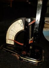 Antique Postage Scale, Ideal with Spring Loading mechanism, Works, Vintage