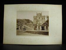 fotografia albuminé Villa Doria Pamphilj  Roma Italie Italia c1880 photographie