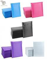 Mix Your Color 100 Poly Bubble Padded Envelopes Mailers #0 6x10 (Inner 6x9)