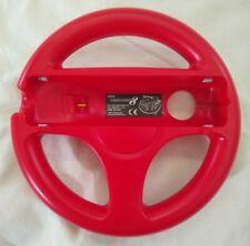 Mario Kart 8 Hori Red Steering Wheel (Nintendo Wii U, 2014) Official