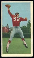 1954 CFL BLUE RIBBON TEA FOOTBALL #68 SAM ETCHEVERRY Montreal Alouettes Denver