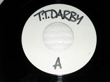 """Terence Trent D'Arby Let Her Down Easy WHITE LABEL PROMO 7"""" Single"""