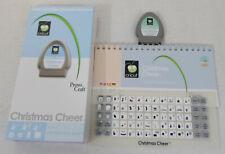CRICUT Cartridge CHRISTMAS Cheer Rob & Bob 29-0019 Loaded Complete