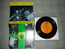 """Inner Strength Time For Reality Vinyl 7"""" Youth Of Today Chain Of Strength Insted"""