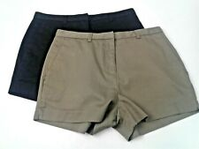 Lot of 2 Unbranded Womens Shorts - Black and Brown Size 8