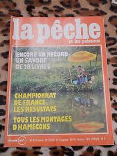 REVUE - La pêche et les poissons - n° 437, oct. 1981