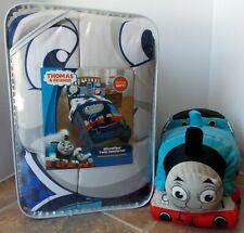 Thomas & Friends Microfiber TWIN Comforter & Decor Pillow Set ~ NEW