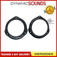 CT25MC18 165mm Front Rear Door Speaker Adaptor For Mercedes C Class W204 2007>