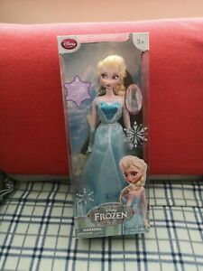 "Disney frozen elsa singing doll 16"" original movie"