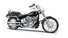 Harley Davidson 2000 FXSTD Softail Deuce Maßstab 1:18 schwarz von maisto