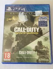 CALL OF DUTY Infinite Warfare + Modern Warfare Legacy Edition Jeu Ps4 Neuf