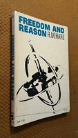 FREEDOM AND REASON by R.M. Hare 1967 Vintage PB RARE