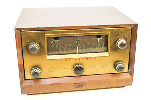 The Fisher Model 80-T AM/FM Tube Tuner With Preamplifier Nice Condition