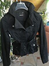 Fishbone Jacke schwarz Größe XS