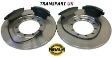 FORD TRANSIT 2.4 2.2 RWD REAR BRAKE DISCS AND PADS 280mm MK7 2006 - 2014