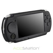 New Black Silicone Protective Rubber Skin Case Cover For Sony PSP 2000 3000 USA