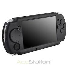 Neue schwarze Silikon Schutzhülle Rubber Skin Hülle Cover für Sony PSP 2000 3000 USA