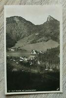 OBB 7) Bayern AK Kreuth 1928 Ortsansicht Gebäude Häuser Straßen Kirche