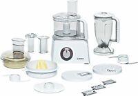 Bosch Küchenmaschine Multifunktions Küchenmaschine mit viel Zubehör - stufenlos