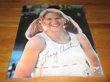 1981 Feelin' 7up Tracy Austin Super Star Poster