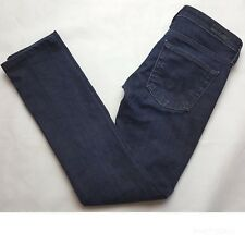 AG Adriano Goldschmied Women's Size 24R Aubrey Skinny Straight Jeans Dark Wash