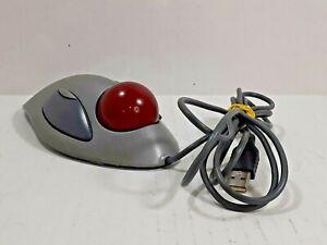 Logitech Trackman Marble Trackball Optical USB Mouse PC & MAC