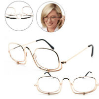 6 SIZES Magnifying Folding Flip Down Lens Makeup Glasses Spectacles Eye Cosmetic