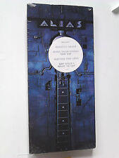 Alias SELF-TITLED cd 1990 EMI NEW LONGBOX (long box) w/original HEART band (s/t)
