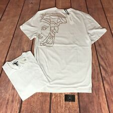 Versace Collection Rear Medusa Logo T-Shirt White - Fits Size XL - £125