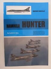 Warpaint 8 - Hawker Hunter - Color Profiles Line Drawings, Photos