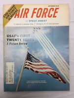 Vintage 1967 Air Force Magazine of Aerospace Power USAF 258 Pages Pictures