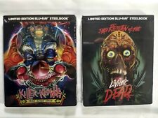 KILLER KLOWNS FROM OUTER SPACE & RETURN OF THE LIVING DEAD Blu-ray Steelbook