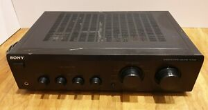 Sony Integrated Stereo Amplifier, Model TA-FE230, Tested!