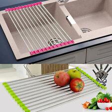 Sink Storage Dish Drying Rack Holder Fruit Vegetable Drainer Colanders Kitchen