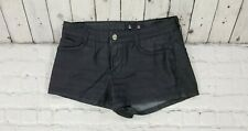 FOREVER 21 Premium Denim Black High Waist Shorts WOMENS SIZE 27