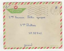 FM Algérie Poste aux Armées cachet 1963 sur lettre /L804