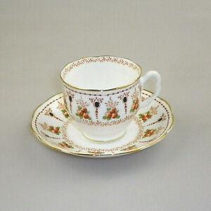 Vintage Royal Albert Crown China Cup & Saucer CLIFTON