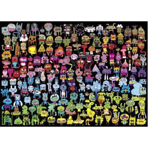 Heye Doodle Rainbow by Jon Burgerman 1000pc Puzzle (New)