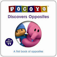 Pocoyo Discovers Opposites: A First Book of Opposites-ExLibrary