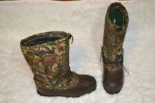 Sorel Camoflage Size 13 Duck Boots Maine Hunting Shoe Kaufman Canadian Insulated