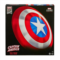 "Marvel Legends Captain America Shield 80th Anniversary Authentic 24"" Shield"