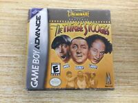 FACTORY SEALED Three Stooges (Nintendo Game Boy Advance, 2002) SHIPS FAST