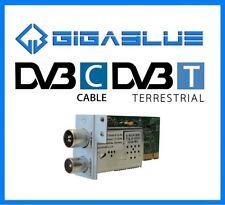 Gigablue HD Double Twin-Hybrid Câble Tuner Dvb-C / Dvb-T HDTV Quad Plus Ultra Ue