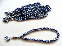 Lucky Evil Eye 33 Prayer Worry Beads Tasbih - Nazar Boncuk Tesbik Turkish Islam