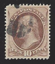 US #150 1870-71 Brown Perf 12 Used F-VF Scv $35
