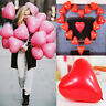 """10"""" Big Red & Pink Heart Shape Balloons Valentines Special Decorations Baloons"""